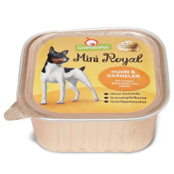 GranataPet Mini Royal Huhn und Garnelen