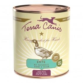 Terra Canis CLASSIC – Ente mit Naturreis, Roter Bete, Birne und Sesam