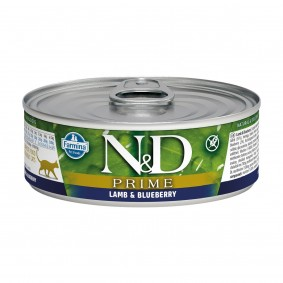 N&D Cat Prime Lamm & Blaubeere 80g