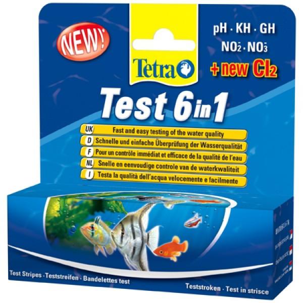 Tetra 6in1 Teststreifen für Süßwasser - Einzelpack