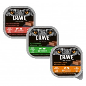 Crave Adult, variace chutí, 30 × 300 g