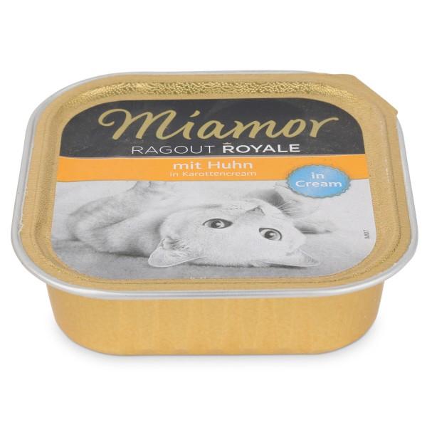 Miamor Katzenfutter Ragout Royale Huhn in Karottencream