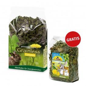 JR Farm Grainless Complete Zwergkaninchen 15kg + JR Farm Löwenzahn 1kg gratis