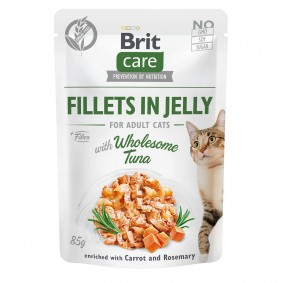 Brit Care Cat Fillets in Jelly with Wholesome Tuna