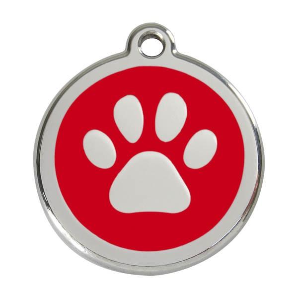 "Red Dingo Katzen- & Hundemarke ""Paw Print"""