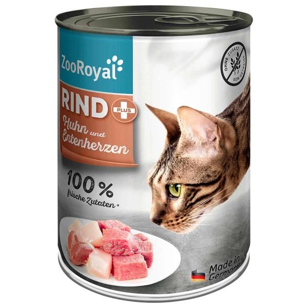 ZooRoyal Rind + Huhn & Entenherzen
