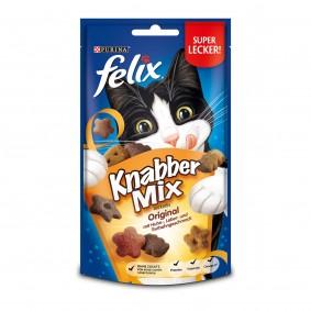FELIX KnabberMix Original mit Huhn-, Leber- & Truthahngeschmack