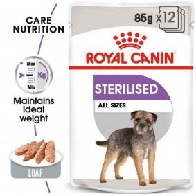 ROYAL CANIN STERILISED Nassfutter für kastrierte Hunde 12x85g
