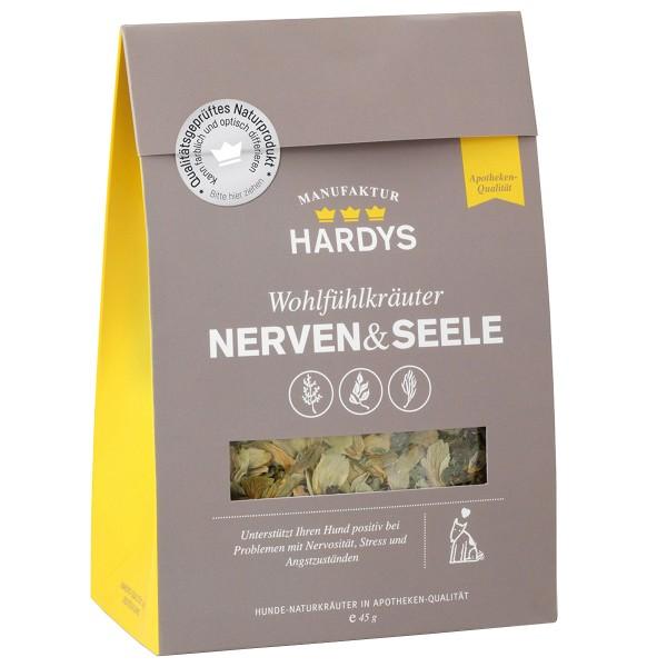 Hardys Nahrungsergänzung Wohlfühlkräuter Nerven & Seele 45g