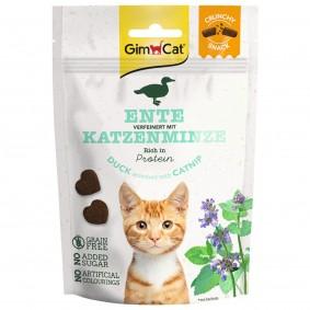 GimCat Crunchy Snacks Ente mit Katzenminze