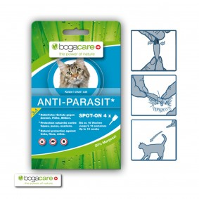 bogacare ANTI-PARASIT Spot-on Katze