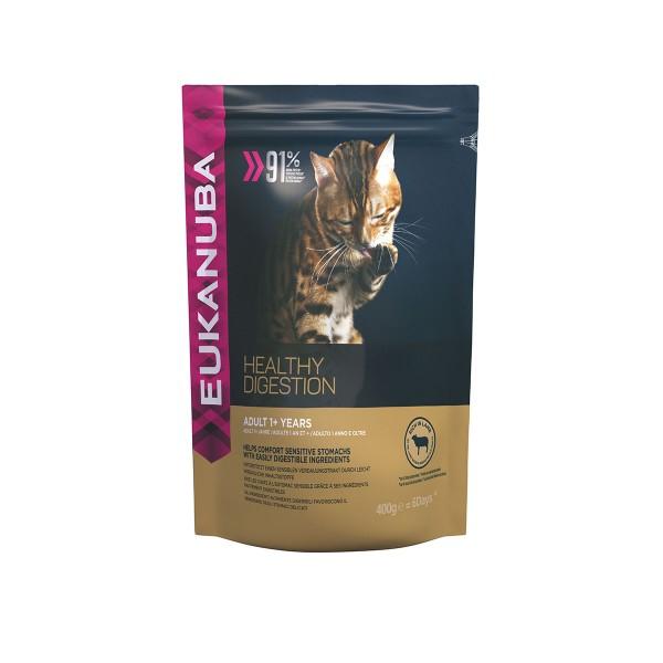 Eukanuba Katzenfutter Healthy Digestion Adult Lamm