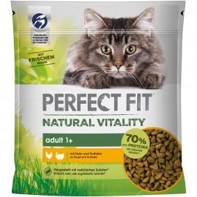 PERFECT FIT™ Katze Natural Vitality Adult 1+ mit Huhn und Truthahn