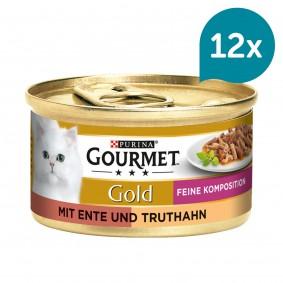 Gourmet Gold Feine Komposition Ente & Truthahn