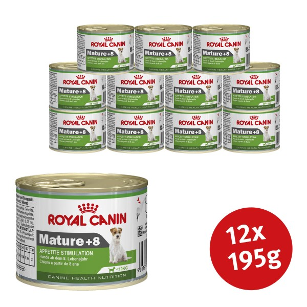 Royal Canin Mature +8 12 x 195g
