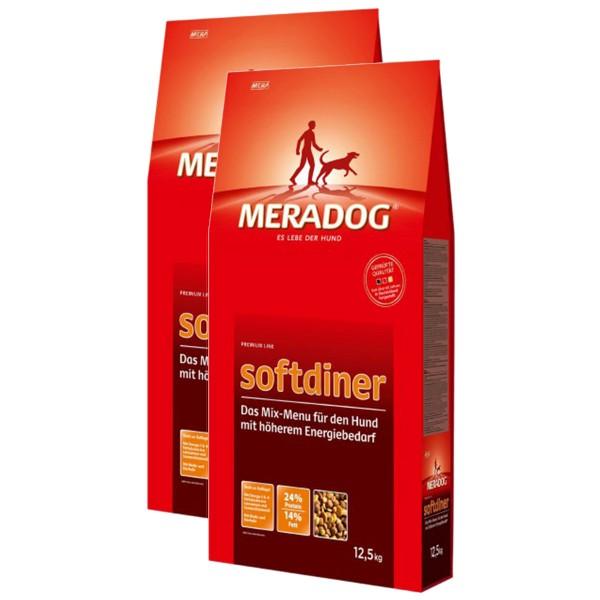 Mera Dog Hundefutter verschiedene Sorten 2x12,5kg