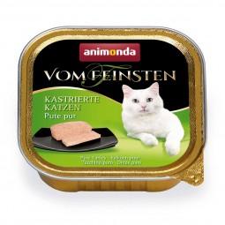 Animonda Katzenfutter Vom Feinsten für kastrierte Katzen Pute pur