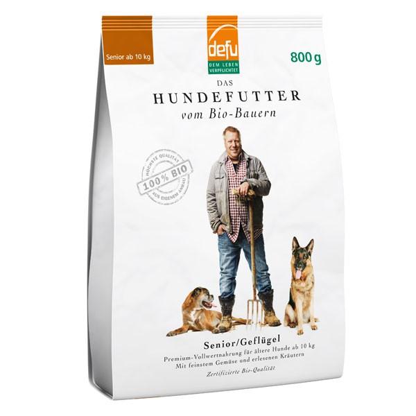 Defu Hundefutter Bio Senior