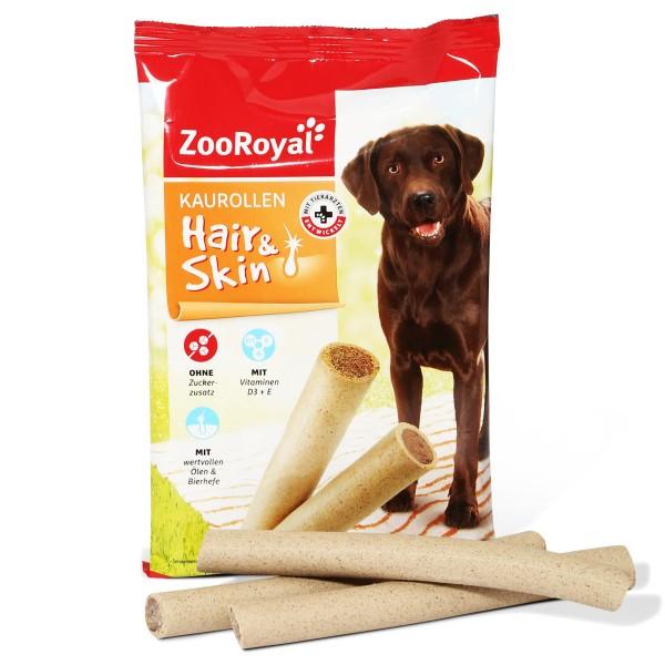 ZooRoyal Hundesnack Kaurollen Hair & Skin 7 Stück