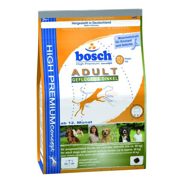 bosch Tiernahrung Bosch Adult Geflügel & Dinkel Hundefutter - 1kg 48202200