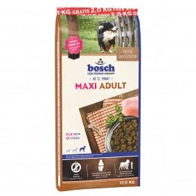 Bosch Maxi Adult 15+2kg gratis