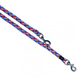 Trixie reflexní vodítko, 2 m, modré/červené