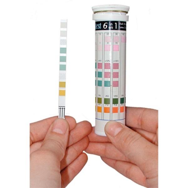 Tetra 6in1 Teststreifen für Süßwasser 4er Pack