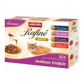 Animonda Rafiné Adult Multipack Delikate Vielfalt in Sauce 4 Sorten