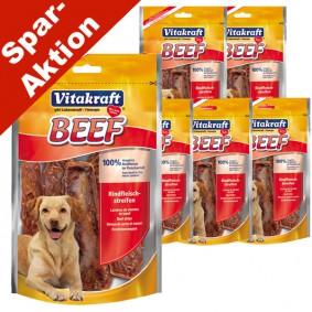 Vitakraft Hundesnack Beef Rindfleischstreifen 5x80g + 1x80g gratis