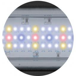 Aquatlantis Aquarium Kombination Fusion 100 LED schwarz 19mm