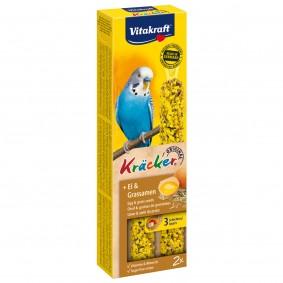 Vitakraft Kräcker mit Ei und Grassamen für Sittiche