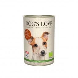 Dog's Love Bio Rind mit Reis, Apfel und Zucchini