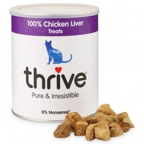 thrive 100% Hühnerleber Katzensnack MaxiTube 135g