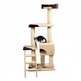gro e katzen kratzb ume g nstig kaufen bei zooroyal. Black Bedroom Furniture Sets. Home Design Ideas