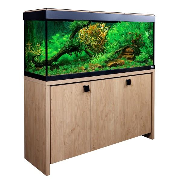 Fluval Aquarium Roma 240 Kombination - Eiche/Sc...