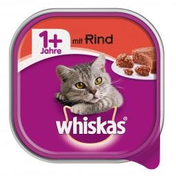 Whiskas Adult 1+ mit Rind 32x100g