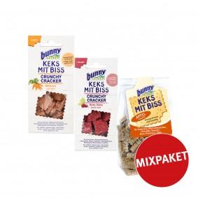 Bunny Keks mit Biss für Kleintiere 50g Mixpaket