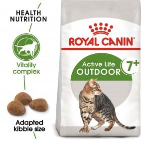 ROYAL CANIN OUTDOOR 7+ Katzenfutter trocken für ältere Freigänger