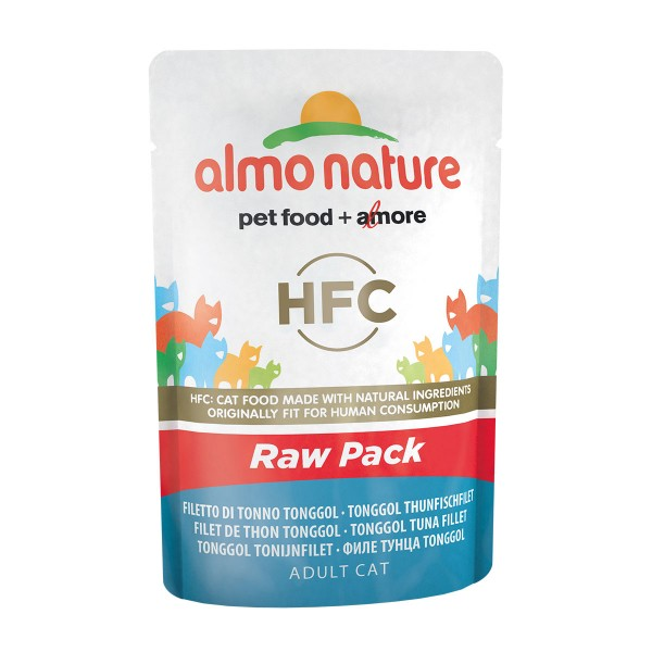 Almo Nature HFC Raw Pack Tonggol Thunfisch