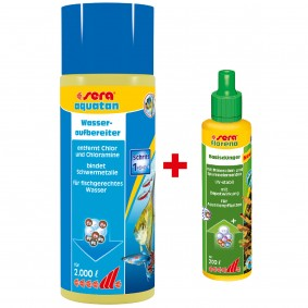 Sera Sparbundle Aquatan 500ml + Florena 50ml