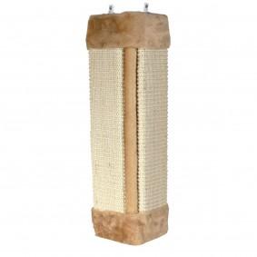 Jollypaw Kratzbrett für Zimmerecken 23x49cm braun