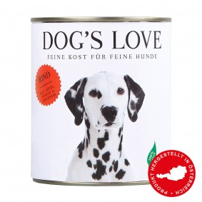 Dog's Love Classic Rind mit Apfel, Spinat & Zucchini