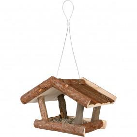 Trixie Futterhaus zum Aufhängen Rindenholz