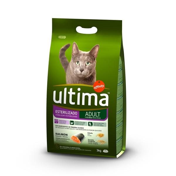Ultima Cat Trockenfutter Sterilized Lachs