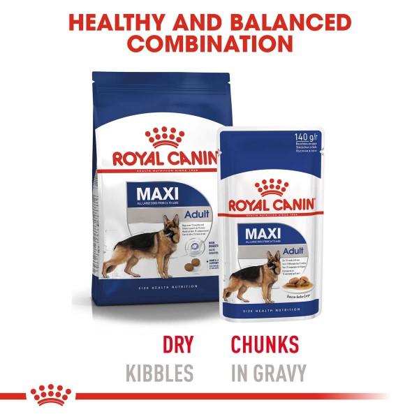 ROYAL CANIN MAXI ADULT Nassfutter für große Hunde