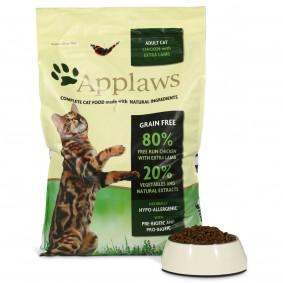 Applaws Cat kuřecí a jehněčí maso