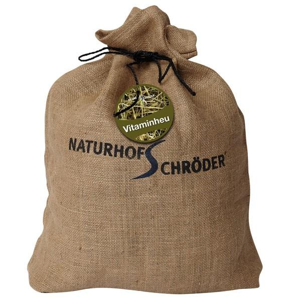 Naturhof Schröder Vitaminheu im Jutebeutel 1kg