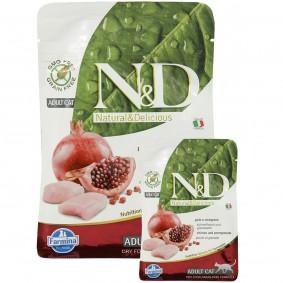 N&D Huhn&Granatapfel Adult 1,5kg + 300g GRATIS!