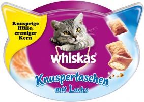 Whiskas Knuspertaschen Lachs 60g