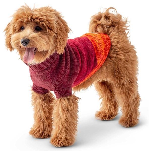 GF Pet Trail Sweater dunkelrot